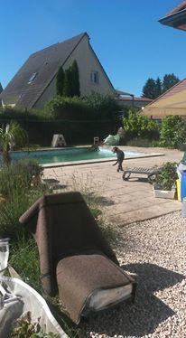 der Pool resp. das Biotop