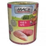 macs-nassfutter-kalb-und-pute-400g
